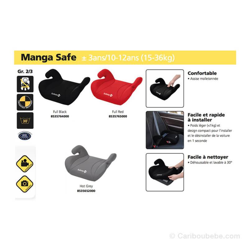 Rehausseurs Manga Safe Groupe2-3 Safety