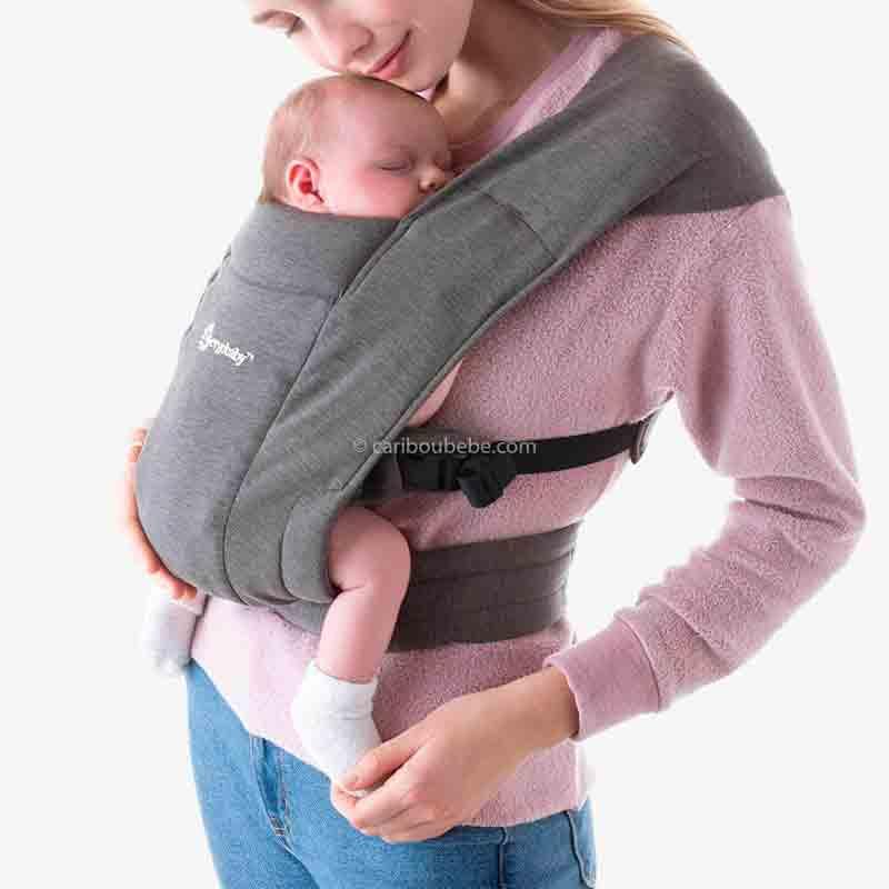 Porte-bébé Embrace Gris1 Ergobaby