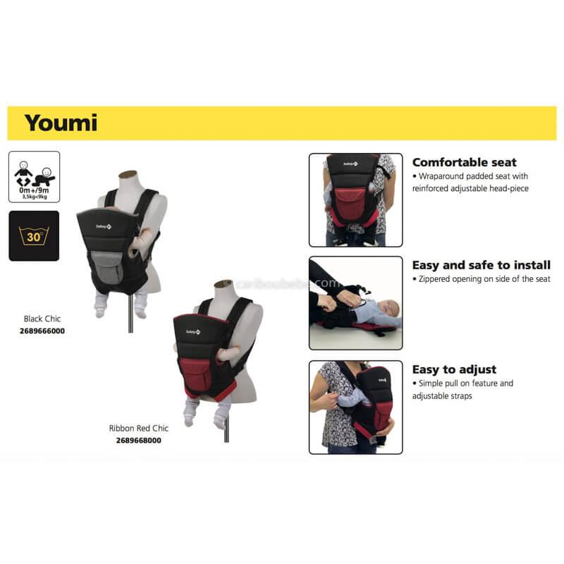 Porte-bébé Ventral Youmi Safety