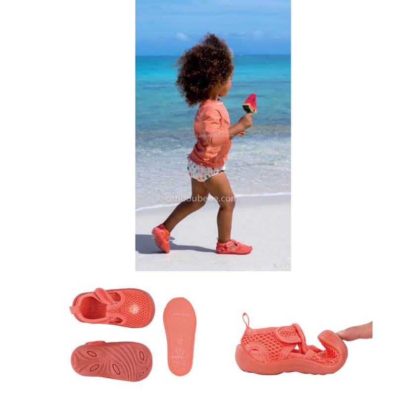 Sandalettes de Plage Pêche Taille US6 Lassig2
