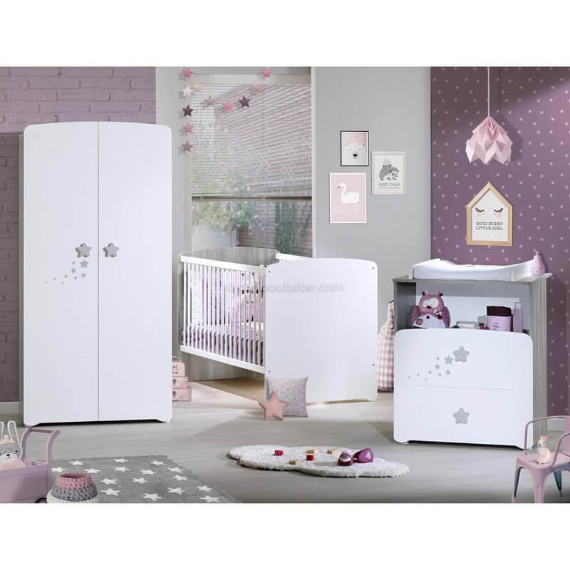 Armoire 2 Portes New Nao Sauthon Baby Price