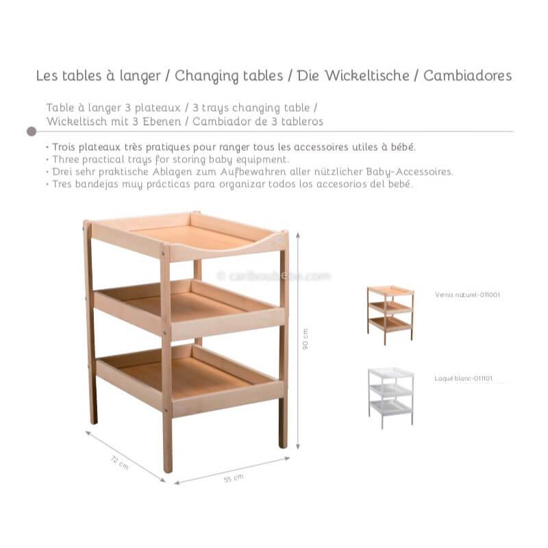 Table à Langer Candide&Tinéo
