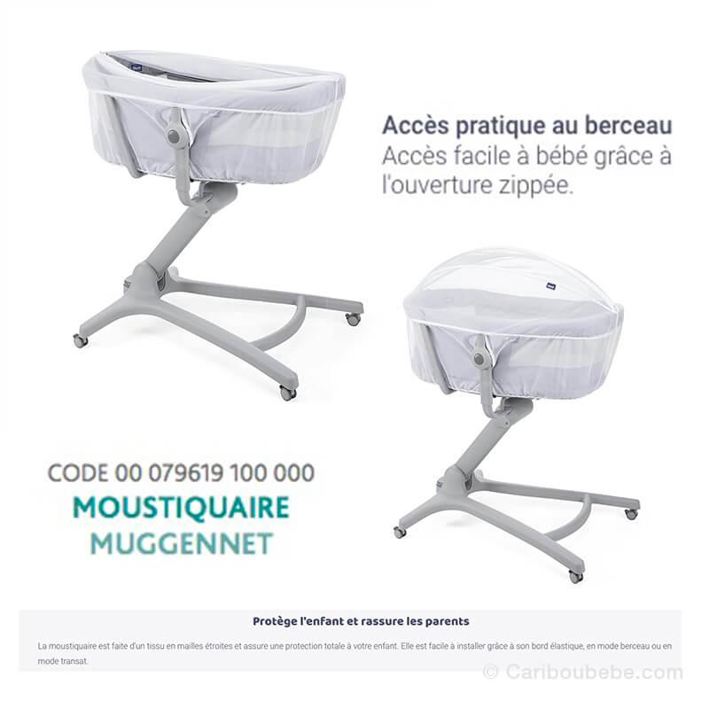 Moustiquaire pour Transat Baby-Hug Air 4en1 Chicco