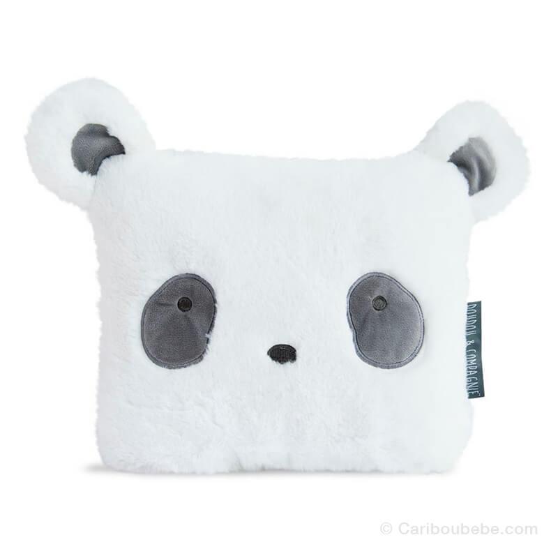 Coussin Panda Aussi Doux 29cm Doudou & Cie