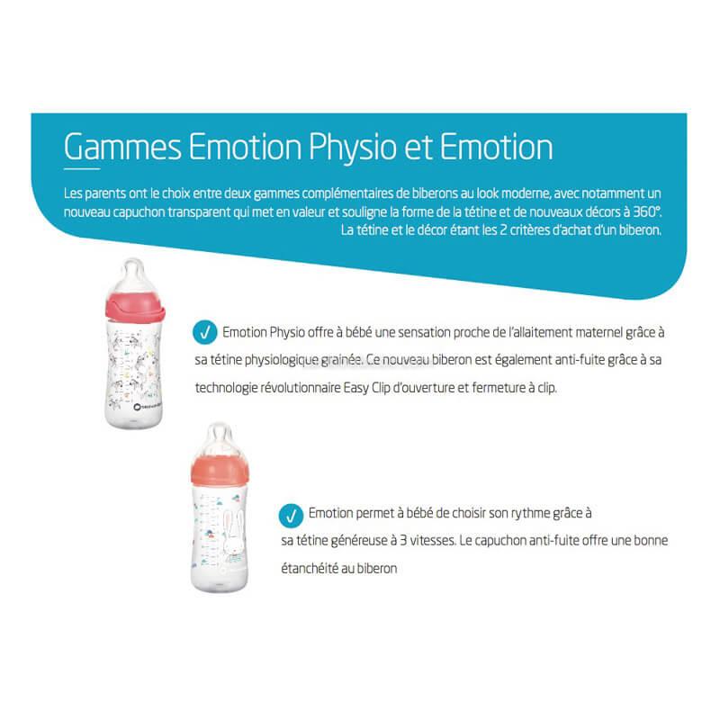 Biberons Émotion Physio Et Émotion Infos Bébé Confort