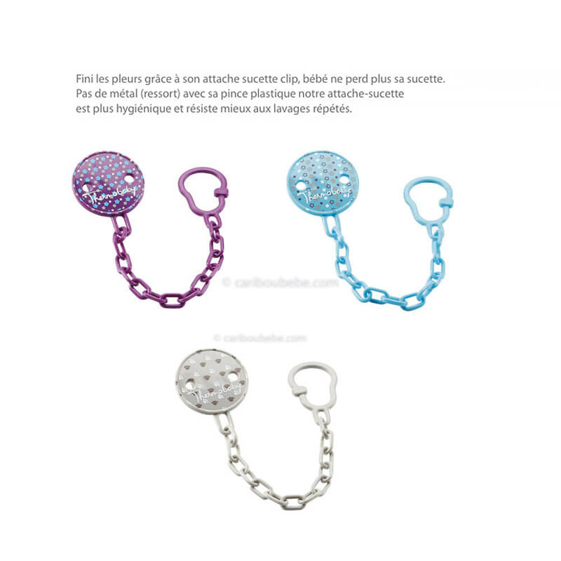Attache-Sucette Clip Rond Thermobaby