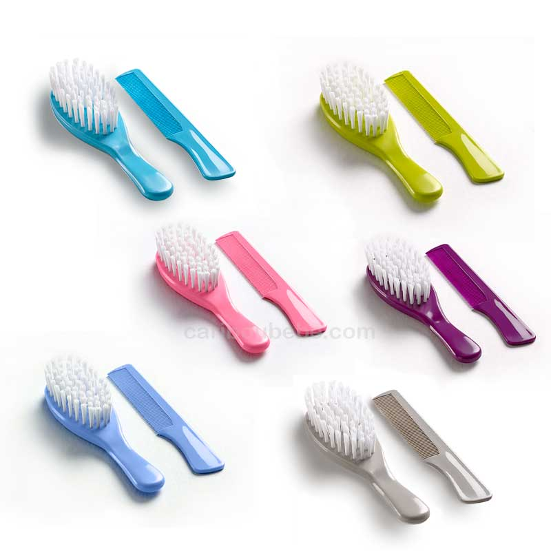 Lot Brosse + Peigne Thermobaby