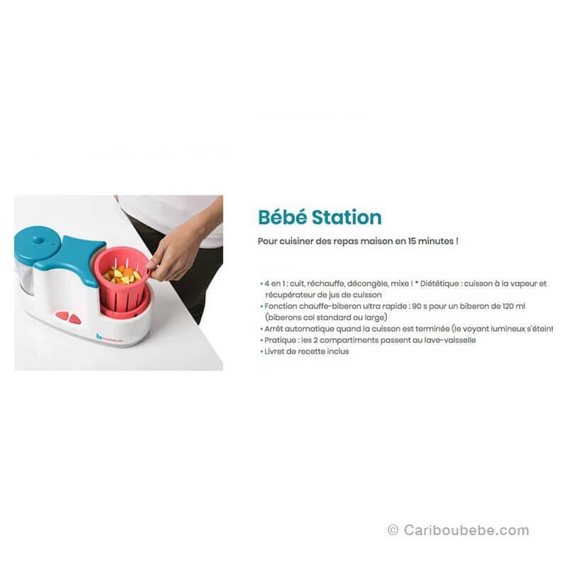 Bébé Station Bleu Gris Badabulle