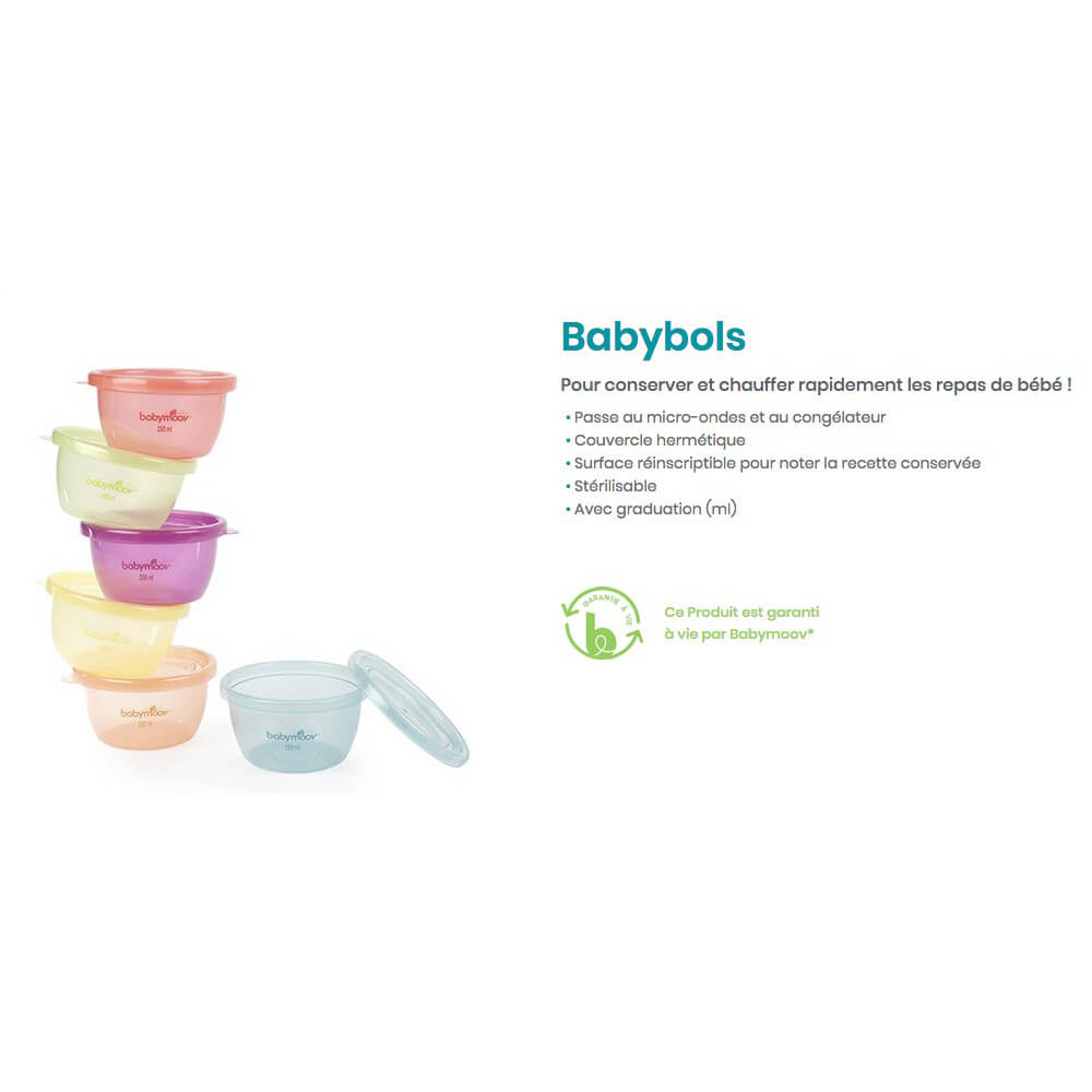 Boîte de Conservation Babybols Badabulle
