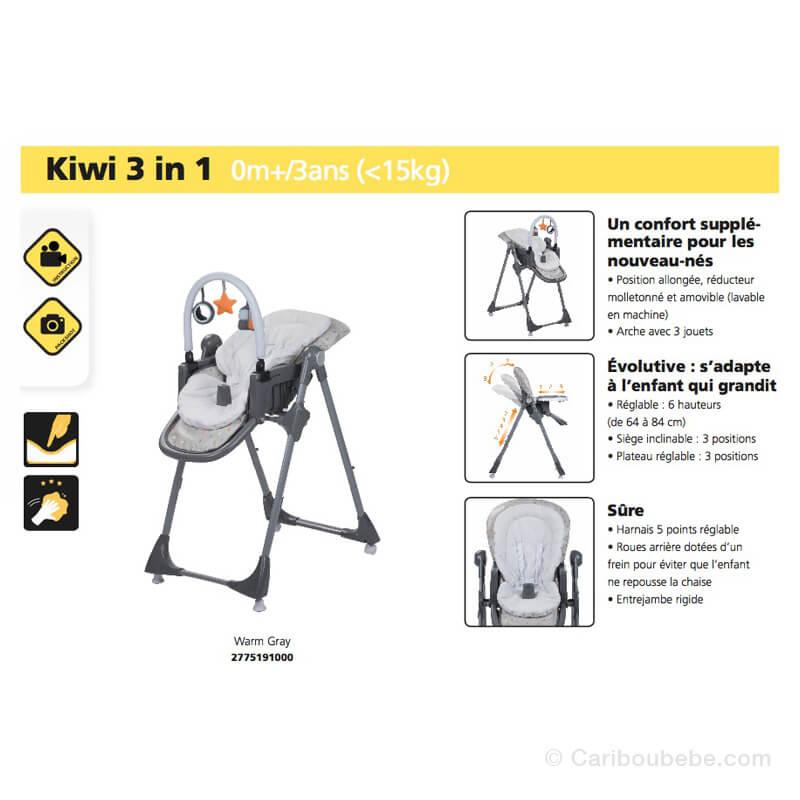 Chaise Haute Kiwi Safety