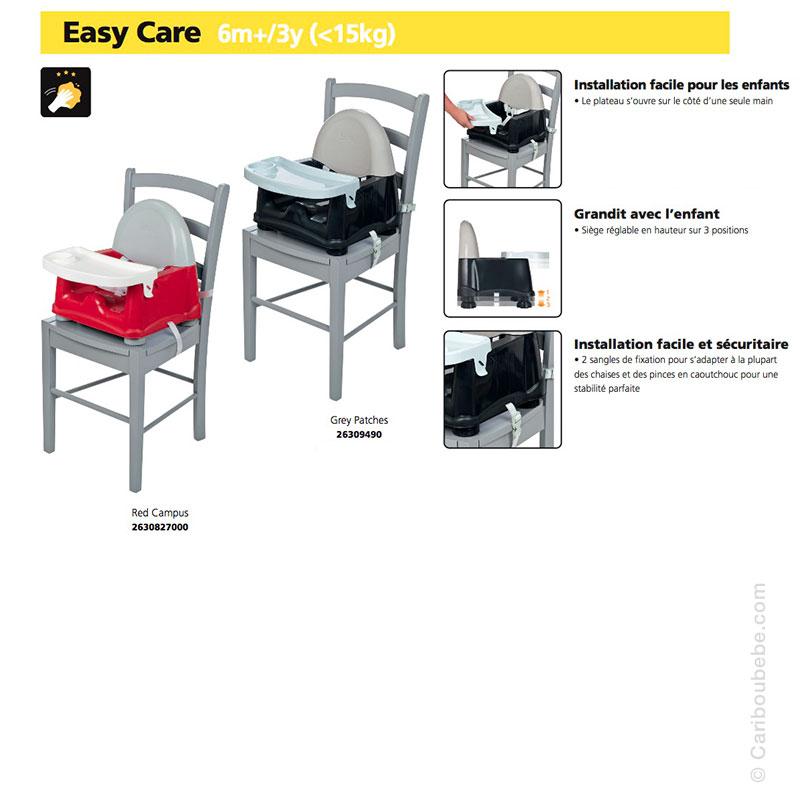 Réhausseur de table Easy Care Safety