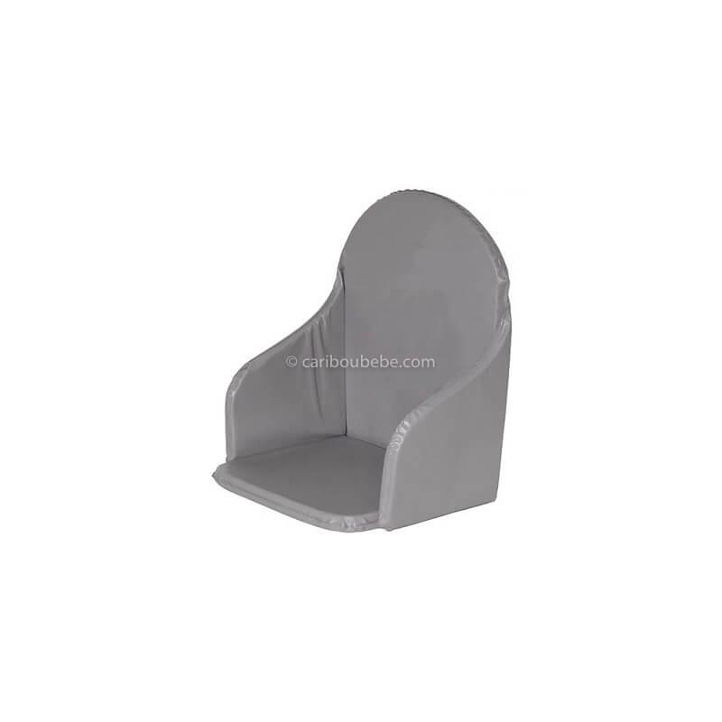 Coussin de Chaise Haute en PVC couleur Taupe Bébé Calin