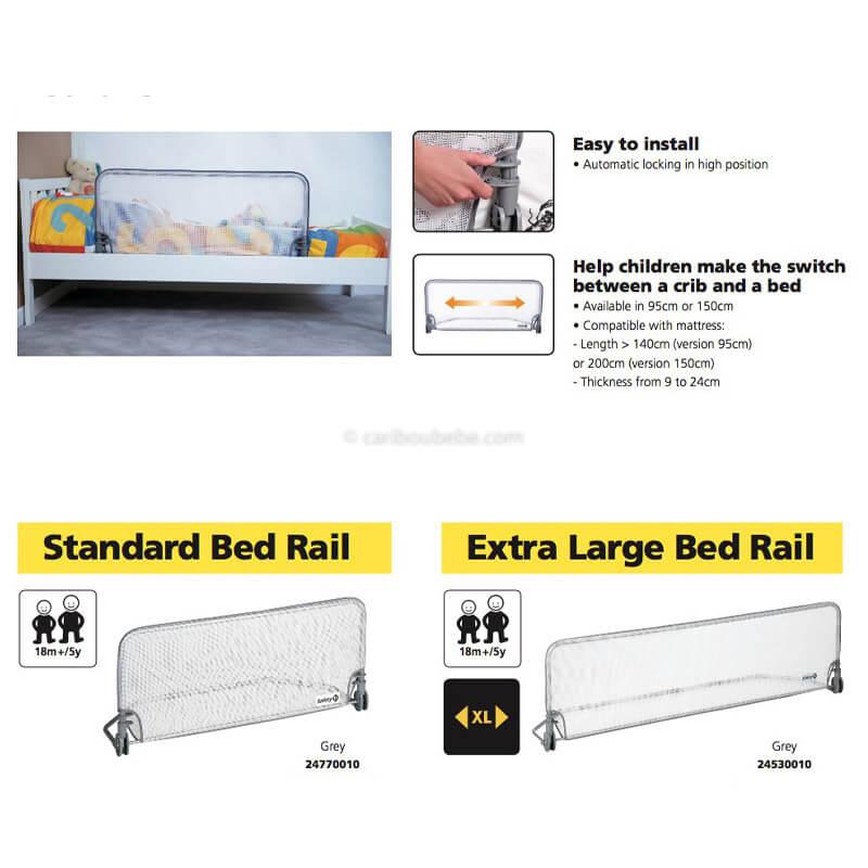 Barrière de Lit 90cm ou 150cm Safety