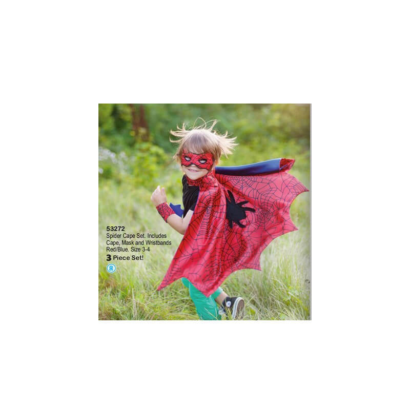 Spider Cape 3 Pièces Green Great Pretenders