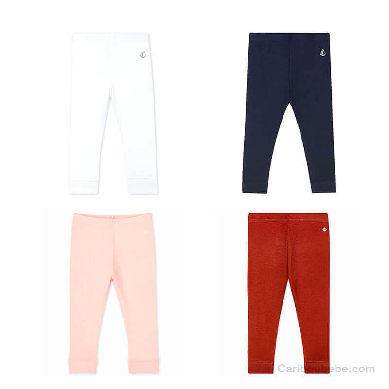 Leggings 100%Coton 3-6-12-18-24-36M Petit Bateau