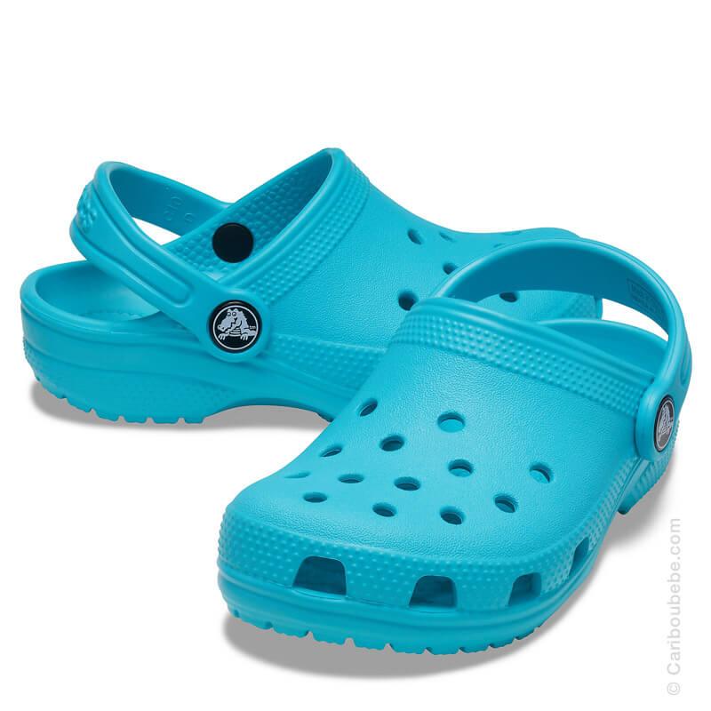 Crocs Kids Classic Clog Digital Aqua Crocs