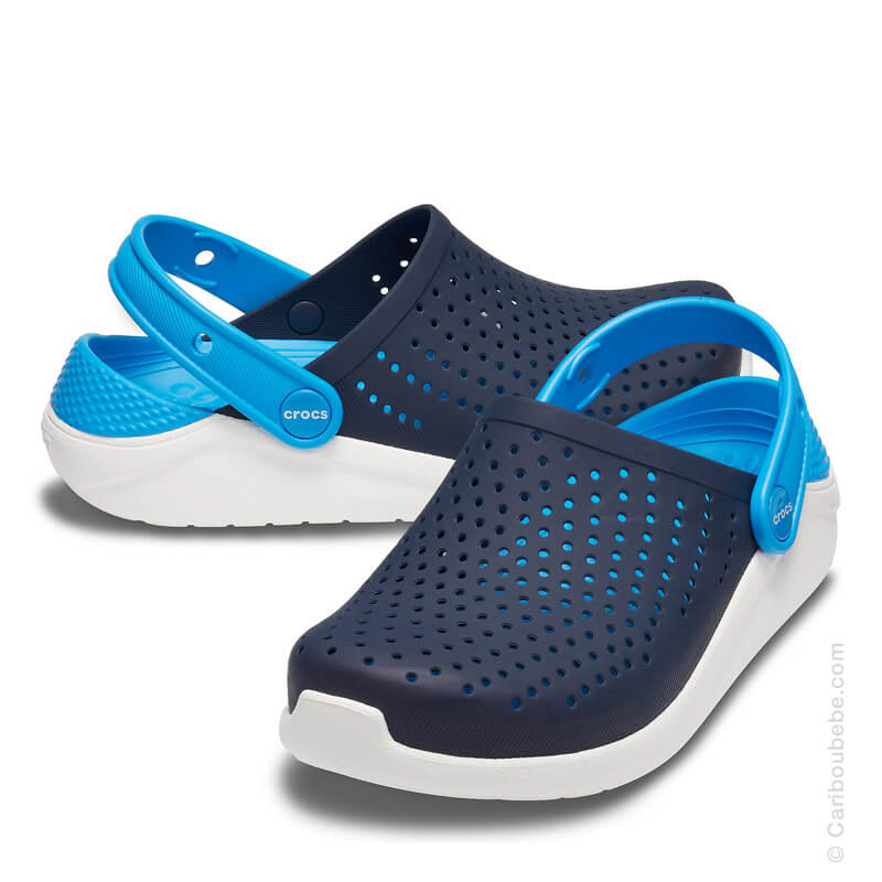 Crocs Kids Crocs-Kids-LiteRide Clog Navy White Crocs