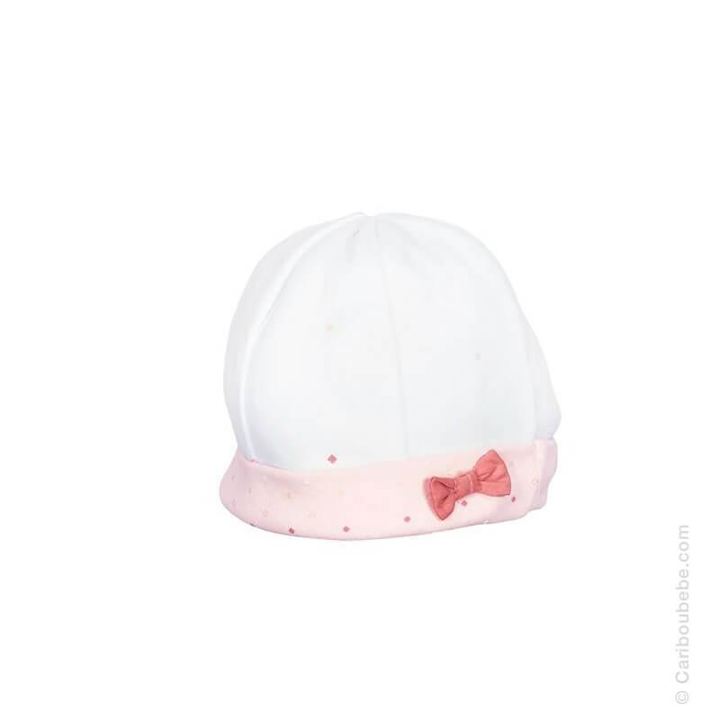 Bonnet naissance Baby Swan Sauthon Baby Déco