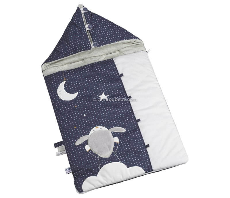 Nid d'Ange Nomade 80cm 0-3M Merlin Sauthon Baby Déco