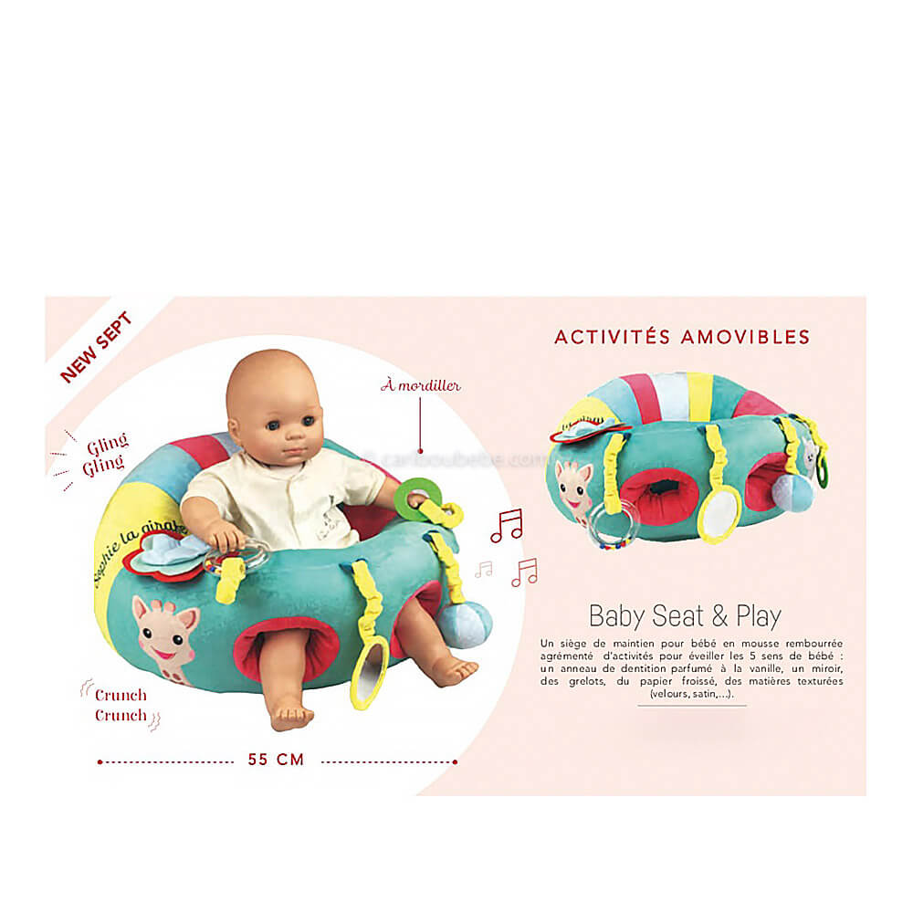 Baby Seat Play +3M Sophie La Girafe