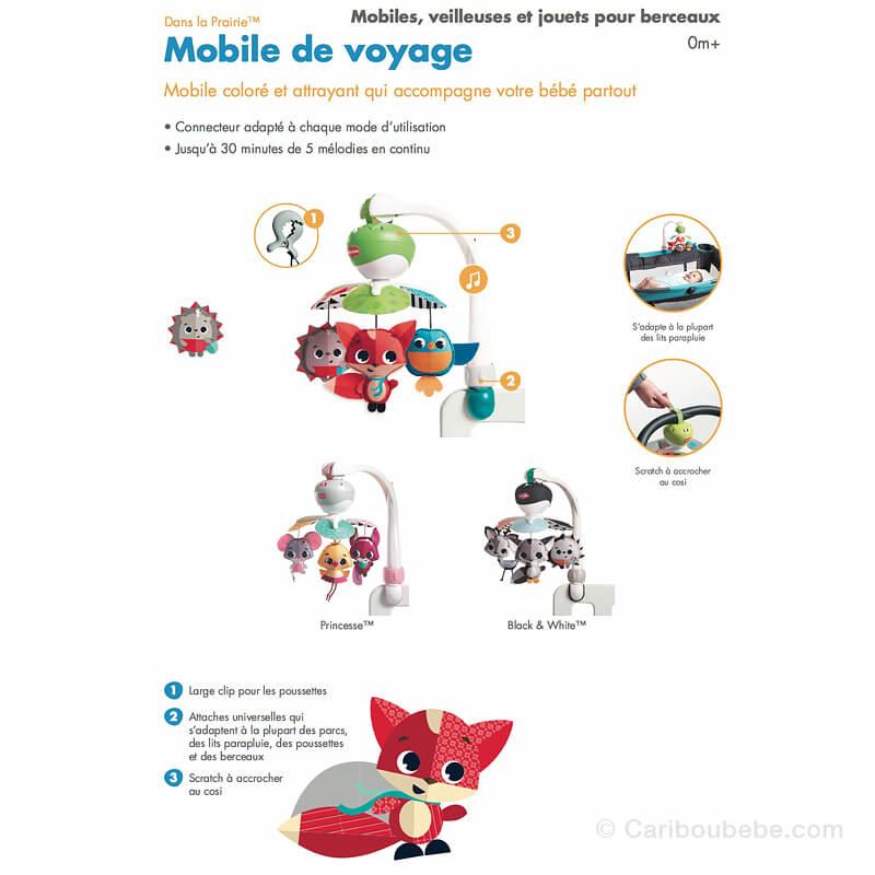Mobile Musical de Voyage Dans La Prairie +0M Tiny Love