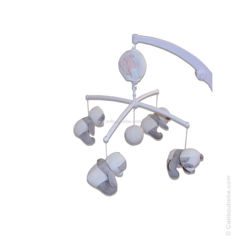 Mobile Musical Rose +0M Les Chatounets Autres