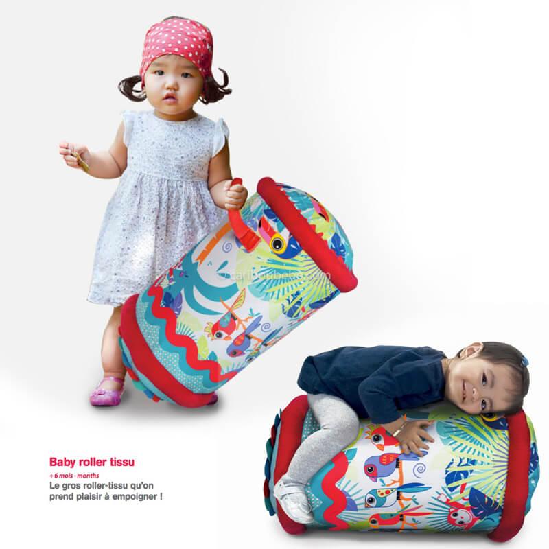 Baby Roller en Tissu Jungle +6M Ludi