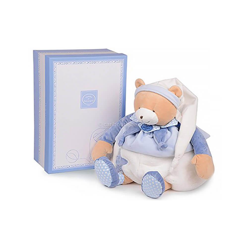 Range-Pyjama Bleu Petit Chou 50cm Doudou&Cie