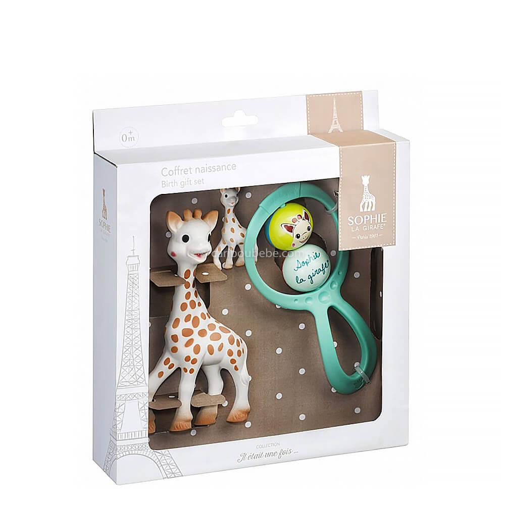 Coffret Cadeau Il était une fois Sophie La Girafe