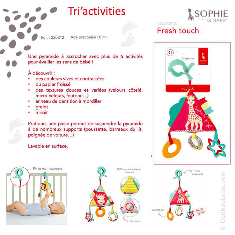 Tri'Activities +0M Sophie La Girafe
