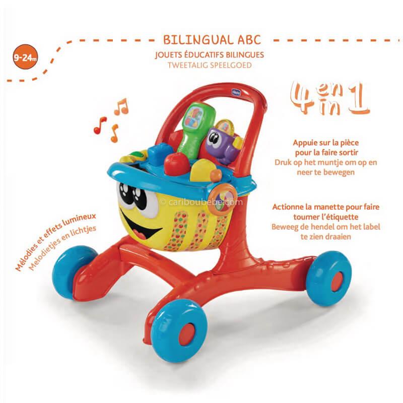 Happy Shopping Bilingue 9-24M Chicco