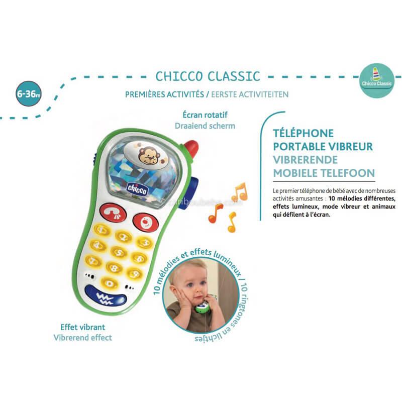 Téléphone Portable Vibreur 6-36M Chicco