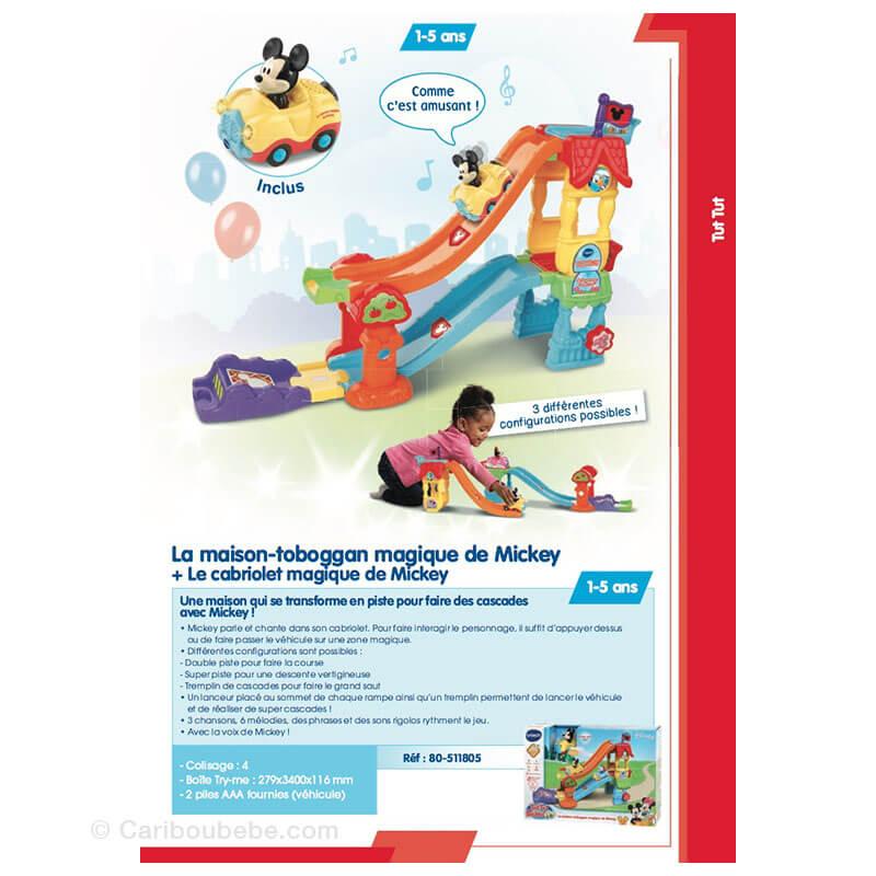 La Maison-Toboggan Magique de Mickey 1-5A VTech