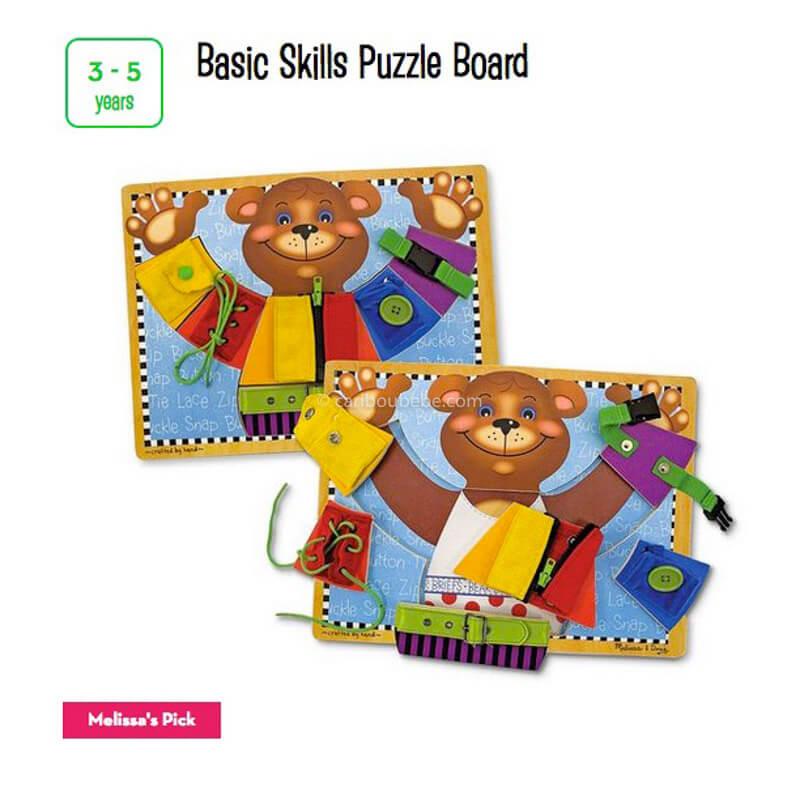 Basic Skills Puzzle Board 3-5A Melissa&Doug
