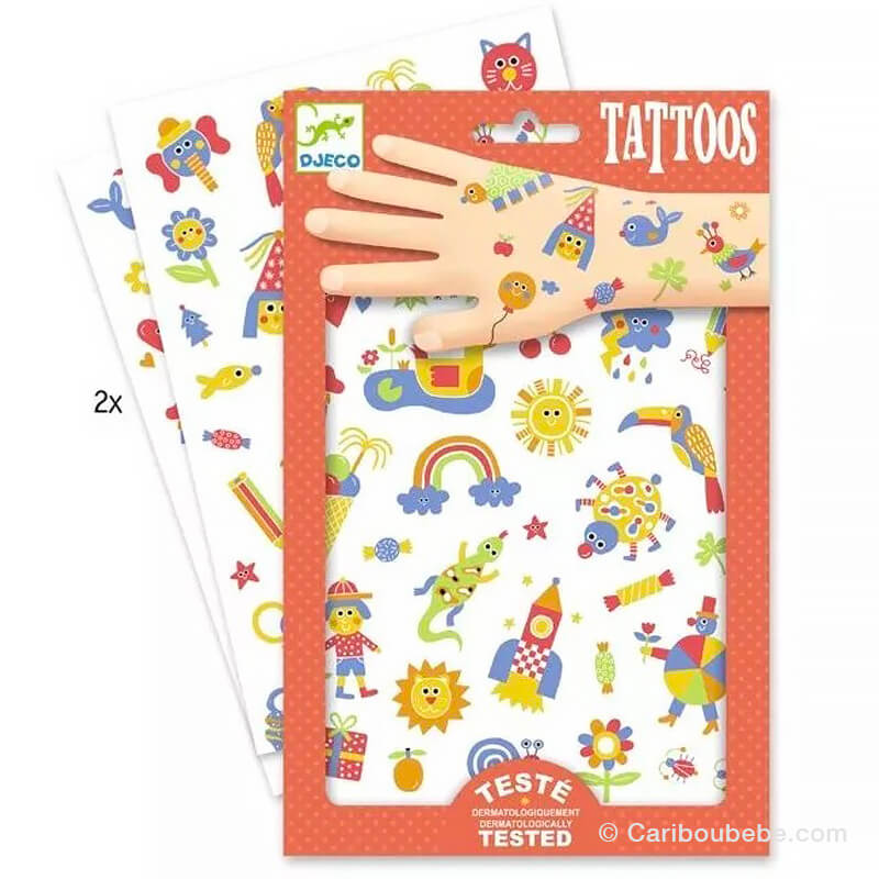 Tatouages So Cute +3A Djeco