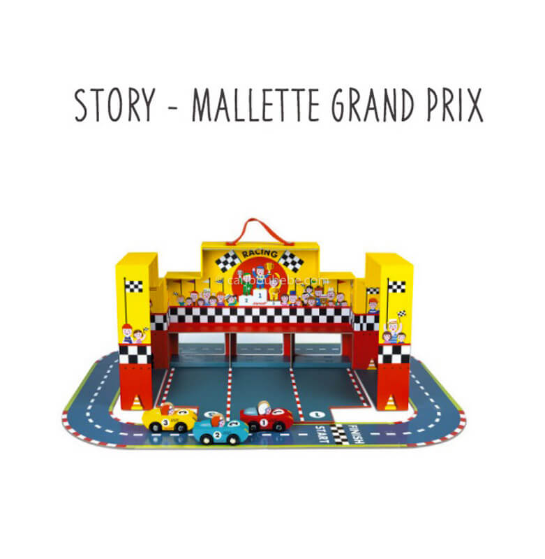 Story Mallette Grand Prix 3-6A Janod