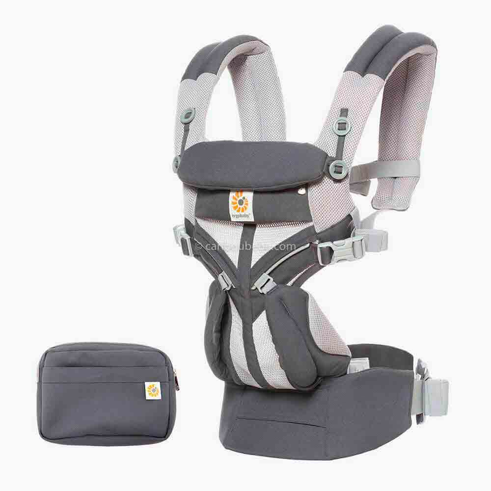Porte-bébé Dorsal Omni 360 Cool Air Mesh 4 positions Carbon Grey3 Ergobaby