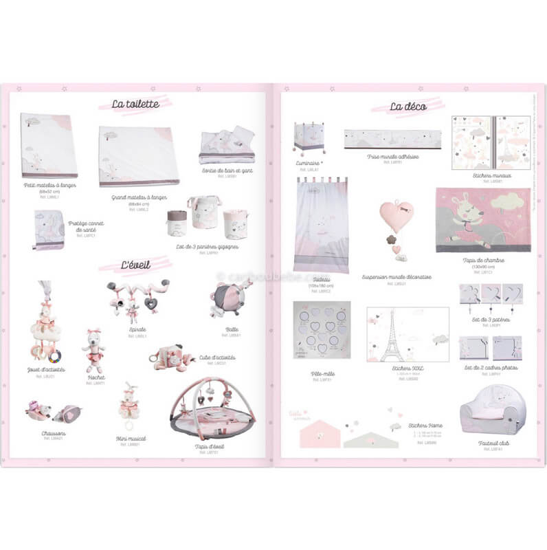 Collection Lilibelle Sauthon Baby Déco