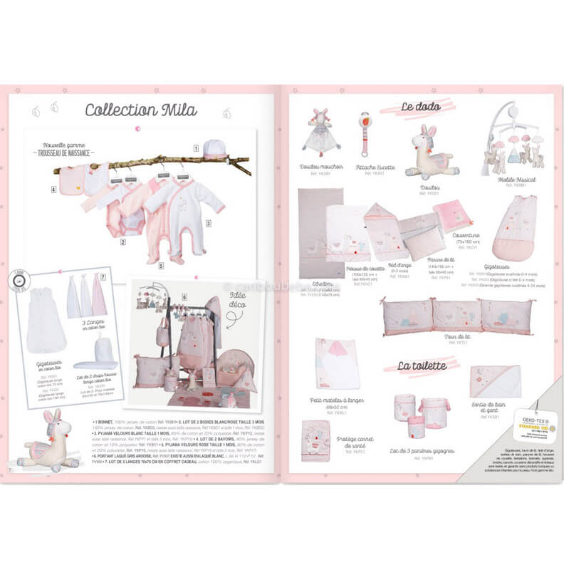 Collection Mila Sauthon Baby Déco