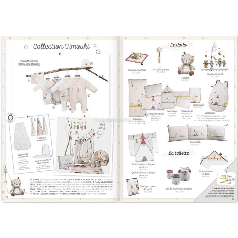 Collection Timouki Sauthon Baby Déco